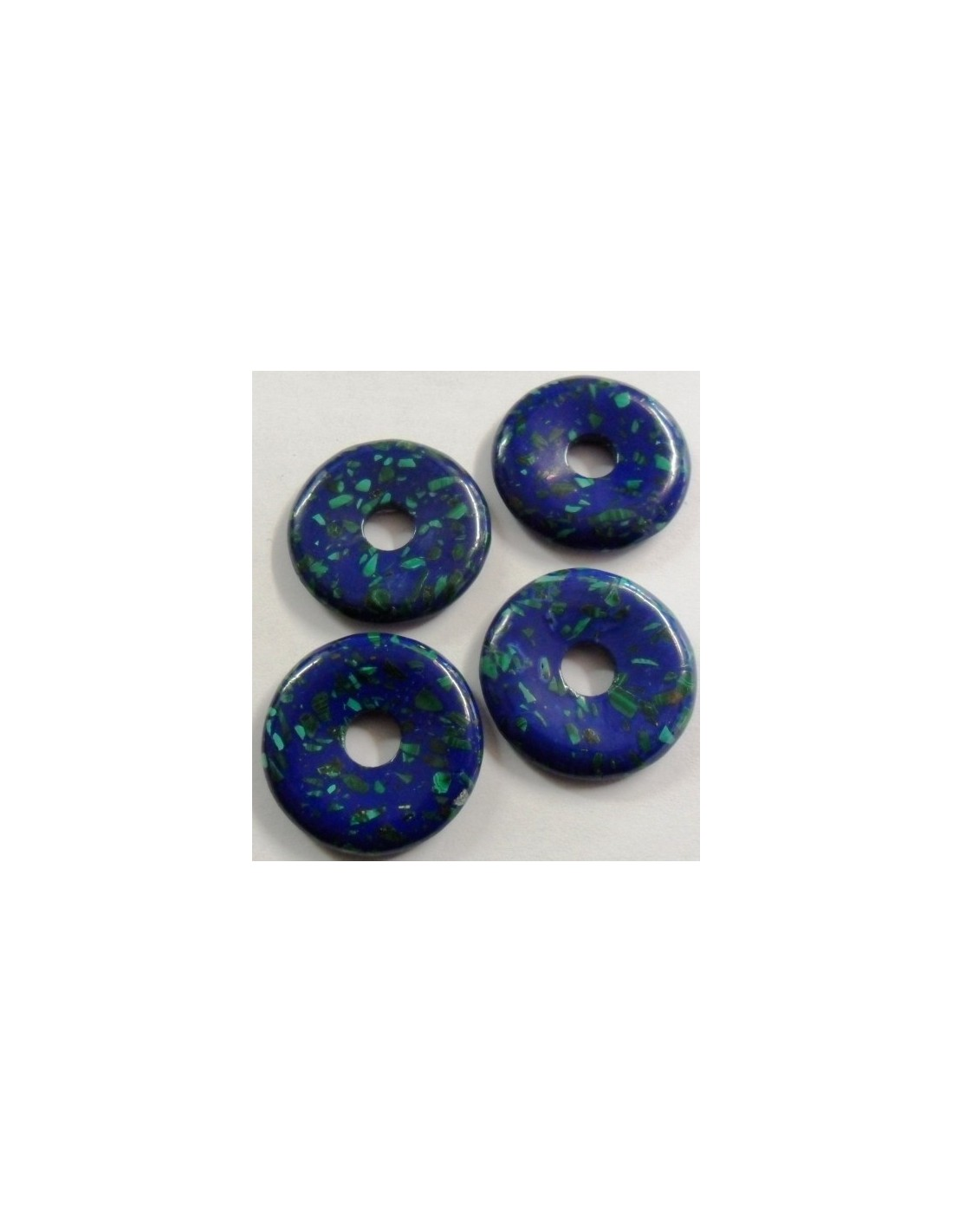 Azurite malachite P.I. chinois 30mm. Loading zoom 587ec1005d2b