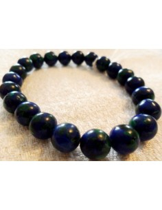 Azurite malachite bracelet 8mm