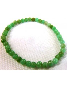 Chrysoprase 4mm bracelet