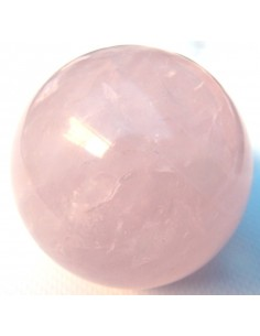 Quartz rose sphere 50mm