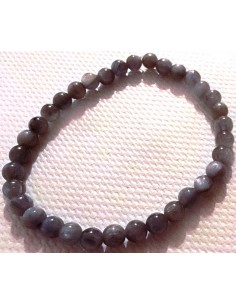 Cyanite bleue bracelet 5mm