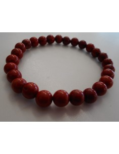 Jaspe rouge bracelet 6mm
