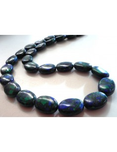 Azurite-malachite collier
