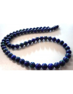 Azurite-malachite collier 8mm
