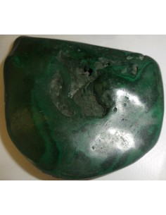 Grand galet de malachite