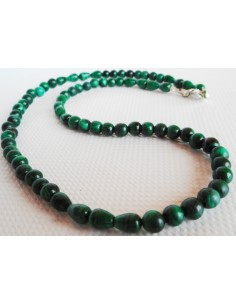 Malachite-azurite collier