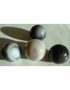 Agate Botswanna grise sphere 22mm