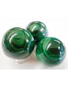 Sphere malachite 22mm