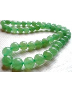 Aventurine collier 8mm