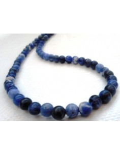 Sodalite collier boule 6mm