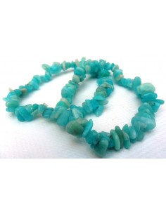 Amazonite bracelet baroque