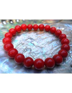 Corail rouge bracelet 8mm