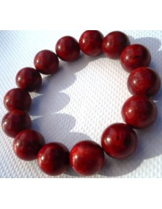Bracelet Corail rouge 12mm