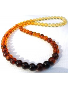 Ambre collier degrade