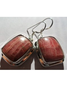 Rhodocrosite boucles rectangle