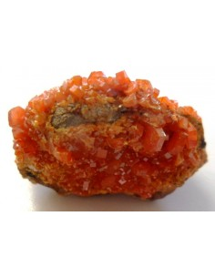 Wulfenite cristalisee