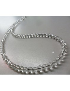 Cristal 4mm collier