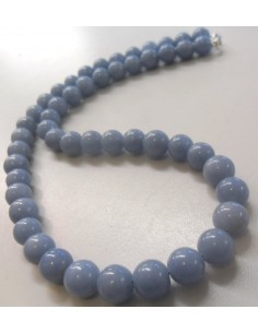 Angelite Collier 8mm.