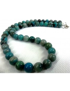 Chrysocolle collier