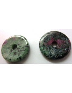 Zoisite P.I. chinois, zoisite donuts