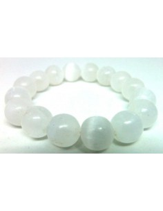 Selenite bracelet 11mm