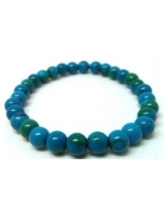 Chrysocolle bracelet 6mm