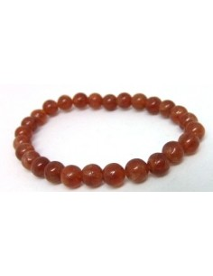 Hessonite bracelet 6mm