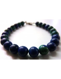 Azurite malachite 8mm bracelet