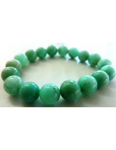 Chrysoprase 10mm bracelet