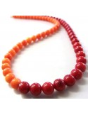 Corail rouge collier