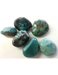 Turquoise polis 25 a 30mm