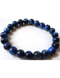Cyanite bleue bracelet 8mm