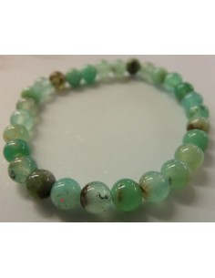 Chrysoprase 6mm bracelet