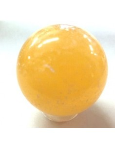 Calcite orange sphere 25 a 30mm
