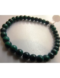 Bracelet malachite 0,5cm/5mm