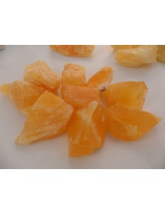 Calcite jaune orange